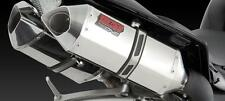 Exhaust Polished Vance & Hines 33505 Dual Stainless Fits Kawasaki ZX14 08-11 X1
