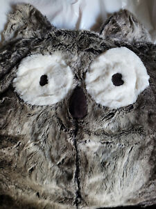 Pottery Barn Teen Owl Faux-Fur Critter Beanbag Cover No Longer Available