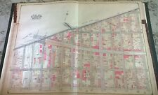 1905 E. Belcher Hyde Brooklyn Brownsville East New York Nyc Map Atlas 27 x 36