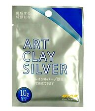 New Art Clay Silver 650 Metal Clay for Modelling Jewellry,10g X10 pack Brand new