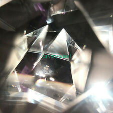 1PC Pyramid Optics Prism Research Dispersion Refraction Education Model C