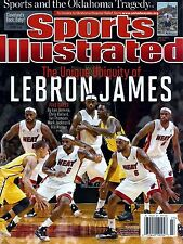 New Sports Illustrated 5/3/13 2013 Lebron James Ubiquity Miami Heat No Label!