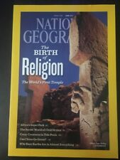 National Geographic - April, 2011 The Birth Of Religion