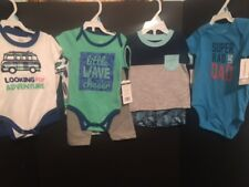 NWT Boy 6 Months Lot 8-pc Surf Looking for Adventure Super Rad Like Dad Carters