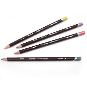 Derwent Coloursoft Professional Colour Pencils Available in 72 Colours
