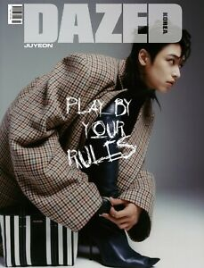 [Dazed & Confused Korea] 2021 August THE BOYZ Juyeon Cover C Whole Magazine +DHL