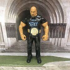 WWE JAKKS RUTHLESS AGGRESSION  BILL GOLDBERG WRESTLING FIGURE WITH BELT