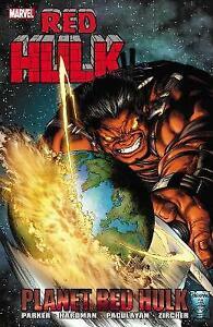 Planet Red Hulk (English) Paperback