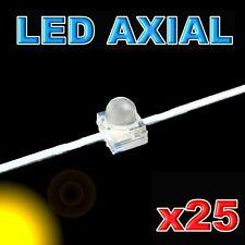 370/25#LED axial 1,8mm jaune 25pcs