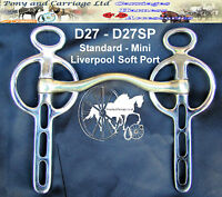 Tulip Fixed Cheek Driving Bit Soft Port With Rollers Style D23T