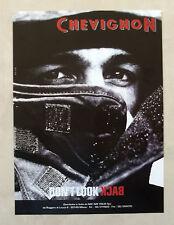 B153-Advertising Pubblicità-2000 - CHEVIGNON - DON'T LOOK BACK