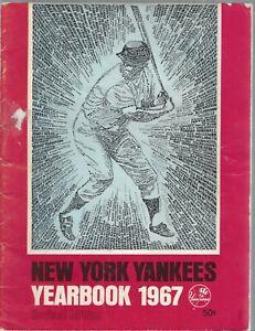 Vintage New York Yankees 1967 Team Yearbook Revised Lot 2