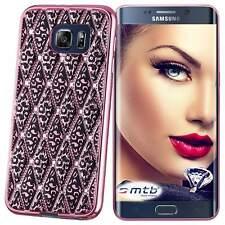 Custodia di TPU ultra slim per Samsung Galaxy S6 Edge (G925) - Rosa brillante