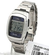DB-E30D-1A Casio Watches Tough Solar Sport Databank Stainless Steel Band DBE-30D