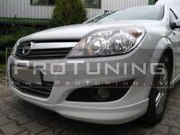 Vauxhall Opel Astra H 04-07 Front Bumper spoiler lip OPC look Combi 5 Door HB