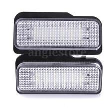 2x NO ERROR LICENSE PLATE LED LIGHT FIT MERCEDES BENZ W203 W211 W219 SLK CLS C21