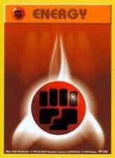4x Fighting Energy - 97/102 - Common - Unlimited Edition Base Set Pokemon Near M