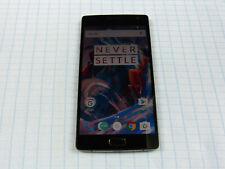 OnePlus 2 64gb negro!! usados sin bloqueo SIM! top estado! OVP! Dual-Sim!