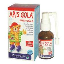 Apis gola oral spray for kids 20ml with acerola juice, propolis, sage and thyme