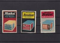 germany macks  advertising stamps paper & card  on back ref r15135