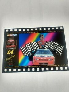 1997 Jeff Gordon Spectra Fun Racing Cel Card This is not the Oversized card