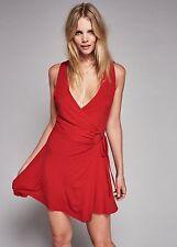 New Free People Kris Mini Dress RED Small
