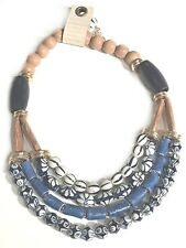 ANTHROPOLOGIE CATERINA BIB NECKLACE -- NEW WITH TAG