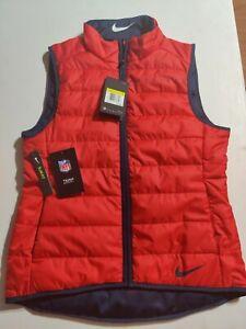 Women's New England Patriots Nike Shield reversible Vest Size S