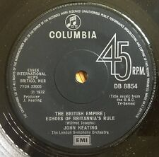 """John KEATING l'Impero britannico: echi della regola del Britannia UK 1972 7"""" COLUMBIA"""