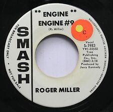 Country Promo 45 Robert Miller - Engine Engine #9 / The Last Word In Lonesome Is