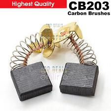 Makita CB203 Carbon Brushes 191953-3 2414B 2414NB 3612 3612C 5103R 5143R 5903R