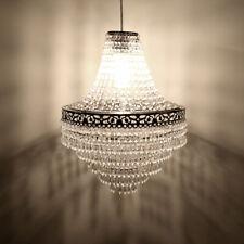 Kristall Hängelampe Deckenleuchte Lüster Kronleuchter Deckenlampe E14