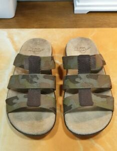 Dr Martens AMAR Camouflage Sandals/Mules Size UK 7