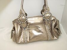 Small silver metallic hand bag from Dolcis