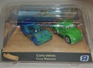 Disney Pixar Cars 2 Wood Collection 2011 Toy R Us carla veloso cruz Rare Set