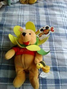 Disney mini bean bag Winnie the Pooh as a flower