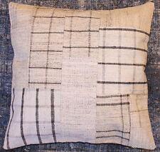 (50*50cm, 20inch) Genuine Turkish handwoven kilim cushion patchwork/whitecheck4
