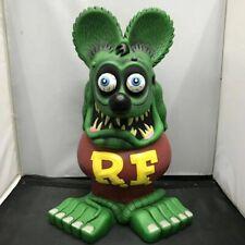 Green Rat Fink Rare 33CM Movie Gift Garage Kit Ed Roth Big Daddy Action Figure