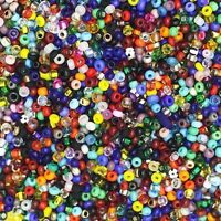 Czech Glass Seed Bead Color Mix One Ounce (1oz) pack Bead Size: 10/0