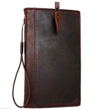 Genuine Full Leather Case for Samsung Galaxy Note 4 Book Wallet Handmade Cover