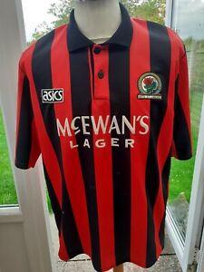 """Blackburn Rovers 1992 Away Shirt  Size  L 40/42"""" Adult"""