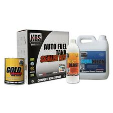 KBS Auto Car Fuel Tank Sealer Repair Kit Rust and Corrosion Prevention Degreaser