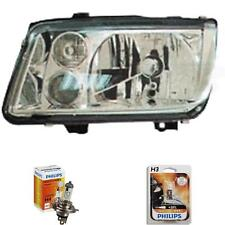 Halogen Scheinwerfer links für VW Bora 09.98-> H4/H3 ohne Motor inkl. Lampen