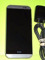 Mint Unlocked HTC One M8  - 32GB - Gunmetal Gray (Verizon) Windows GSM/CDMA