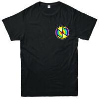 Captain Scarlet T-Shirt, Logo Spectrum Mysterons Puppet Thunderbirds Unisex Top