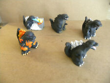 "Huckleberry Toys 2014 5 3"" GODZILLA mini-figures puppets Yubis jw"