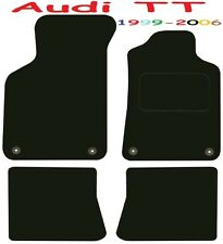Audi TT Tailored Deluxe Quality Car Mats 1999-2006 Convertible Cabrio and Coupe