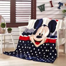 cute mickey mike black warm blanket Throws quilt blanket bed 150x200cm new