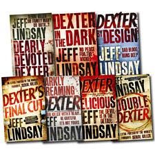 Jeff Lindsay Novel Collection 7 Books Set Dexter's Final Cut, Double Dexter, etc