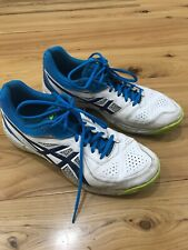 Mens ASICS Gel Peake 5 Cricket Shoes Size 10 Dimpled Rubber Outsole Excl Cond